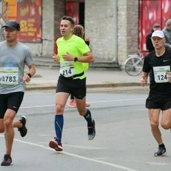 Tallinna Maraton - Dag Nilsson (124), Evgeny Rusakov (214)