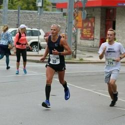 Tallinna Maraton - Alar Ridamäe (20), Jaakob Lambot (235)