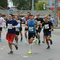 Tallinna Maraton - Maigo Matsalu (54), Mait Miller (96), Samuel Austen (142)
