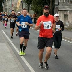 Tallinna Maraton - Aleksei Ronkel (1294), Antti Minkkinen (1439)