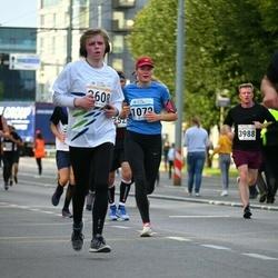 Tallinna Sügisjooks - Karmel Kai Murumaa (1072), Benno Roobas (3608)