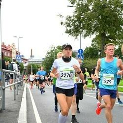 Tallinna Maraton - Steve Halton (279), Anna Naumova (2270)