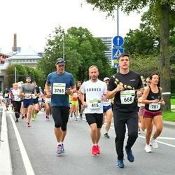 Tallinna Maraton - Jaanus Saarepera (415), Aleksei Gilfanov (668), Raul Kaljuraid (3763)