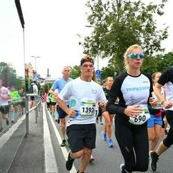 Tallinna Maraton - Annika Veimer (690), Rivo Tarkijainen (1393)