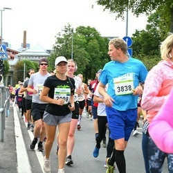 Tallinna Maraton - Monika Vessmann (2008), Arttu Borchers (3838)