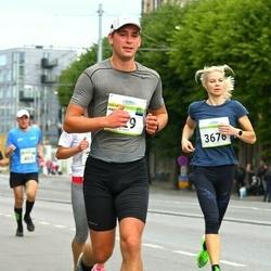 Tallinna Maraton - Andre Mets (429), Külliki Taylor (3676)