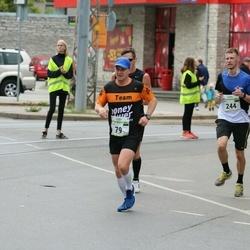 Tallinna Maraton - Kristjan Ööpik (79), Dmitri Beljakov (244)