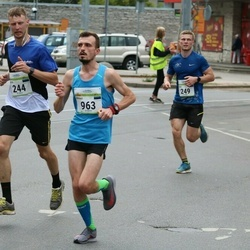 Tallinna Maraton - Dmitri Beljakov (244), Andre Kukk (249), Rauno Parts (963)