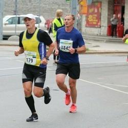 Tallinna Maraton - Kalle Koop (179), Jaanus Koval (3842)