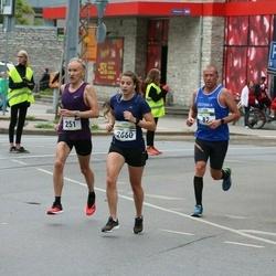 Tallinna Maraton - Nikolay Sergeenko (251), Florence Weiss (2660)