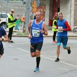 Tallinna Maraton - Ingmar Vutt (82), Andre Sammelselg (1416)