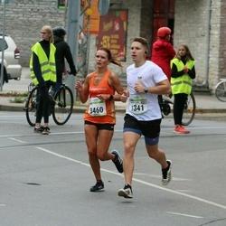 Tallinna Maraton - Georges Olivier Bechard (1341), Siiri Leskov (3460)