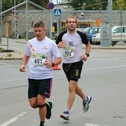 Tallinna Maraton - Marek Pohla (491), Guillaume Chauvet (935)