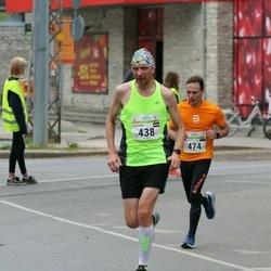 Tallinna Maraton - Guntars Revelins (438), Sven Tsirk (474)