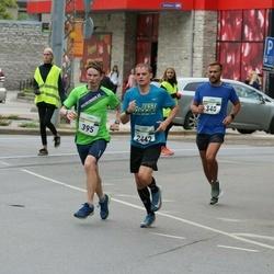 Tallinna Maraton - Sergei Barõšnikov (340), Endre Varik (395), Mikk Varik (2442)
