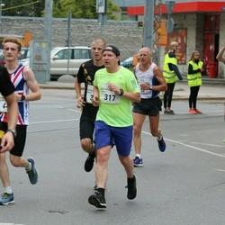 Tallinna Maraton - Tuomo Hämäläinen (317), Georg Ott (325)