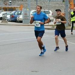 Tallinna Maraton - Janis Magdalenoks (461), Sten Oja (999)
