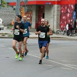 Tallinna Maraton - Juha Hulkkonen (242), Christian Hase (459)