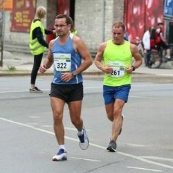 Tallinna Maraton - Petur Valdimarsson (261), Andres Matkur (322)