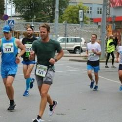 Tallinna Maraton - Ilia Batyrev (301), Taneli Siivonen (318), Michael Jones (421)