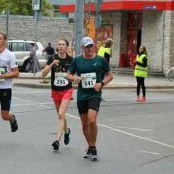 Tallinna Maraton - Birgit Paal (398), Dimitri Podgornõi (541)