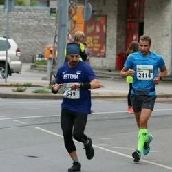 Tallinna Maraton - Simone Dangiulli (649), Martins Sebris (2414)