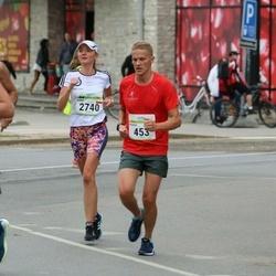 Tallinna Maraton - Roman Gasynets (453), Anna Gadomska (2740)