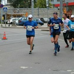 Tallinna Maraton - Mika Penttilä (431), Silver Laiv (888)