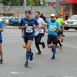 Tallinna Maraton - Melvin Merimäe (264), Silver Laiv (888), Indrek Bauer (3265)