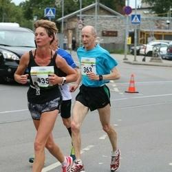 Tallinna Maraton - Ensio Lehtonen (363), Kaire Roosalk (435)