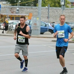 Tallinna Maraton - Stacy James Cross (510), Jyrki Saari (1106)
