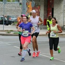 Tallinna Maraton - Sander Lepik (221), Milla Köynnös (607)