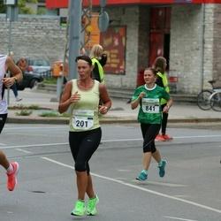 Tallinna Maraton - Kai Saar (201), Marina Varganova (841)