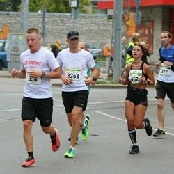 Tallinna Maraton - Egert Akenpärg (334), Dariia Maksymenko (452), Lauri Rebane (3268)