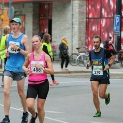 Tallinna Maraton - Oleksandr Radchenko (270), Astrid Arula (486), Vootele Vesterblom (954)