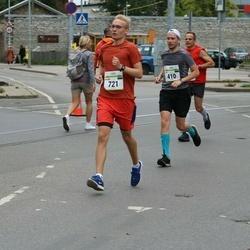 Tallinna Maraton - Jaak Ritso (410), Kaarel Vene (721)