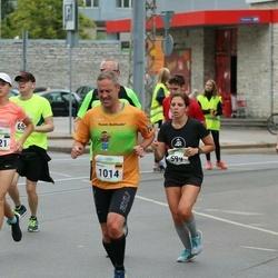 Tallinna Maraton - Claire Petit (599), Matthias Pauer (1014), Mari-Liis Valma (1421)