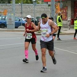 Tallinna Maraton - Marina Järve (414), Chris Morley (580)
