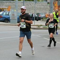 Tallinna Maraton - Tarmo Saremat (321), Kati Välimets (862)