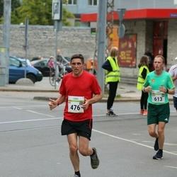 Tallinna Maraton - Nick Bird (476), Edwin Tromp (613)