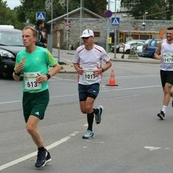 Tallinna Maraton - Edwin Tromp (613), Aivar Angelstok (1017)