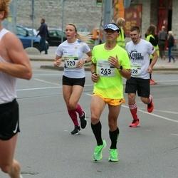 Tallinna Maraton - Rainer Virve (263), Maarja Maarjakõiv (520), Leonid Khlebnikov (628)