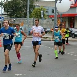 Tallinna Maraton - Heli Ajaots (669), Janno Hollo (3087)