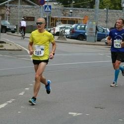 Tallinna Maraton - Marek Enok (165), Taavi Tuisk (3515)