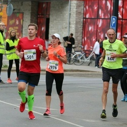 Tallinna Maraton - Kaido Hanni (501), Peter Amos (844), Kairi Ustav (2976)