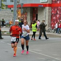 Tallinna Maraton - Meelis Peiker (258), Pille Visser (2707)