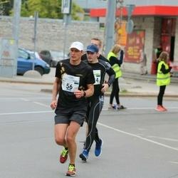 Tallinna Maraton - Henri Rüüsak (56), Nikolay Mend (3034)