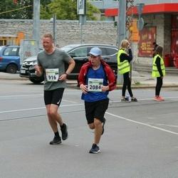 Tallinna Maraton - Kai Hansen (916), Oskar Krull (2084)