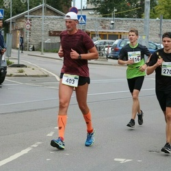 Tallinna Maraton - Marko Põder (403), Gleb Gusev (1516), Marko Tosso (2706)