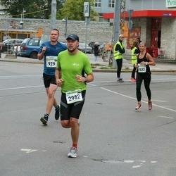 Tallinna Maraton - Martin Talvik (929), Eero Liivandi (2982)